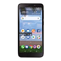 TracFone Carrier-Locked TCL A1 4G LTE Prepaid Smartphone - Black - 16GB - Sim Card...