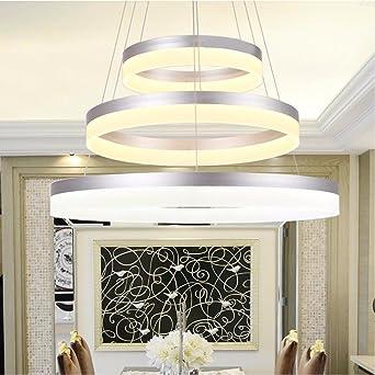 SDKKY Modernes Wohnzimmer Kronleuchter, Acryl Led Restaurant Mit  Kronleuchtern, Einfache Und Moderne Kronleuchter