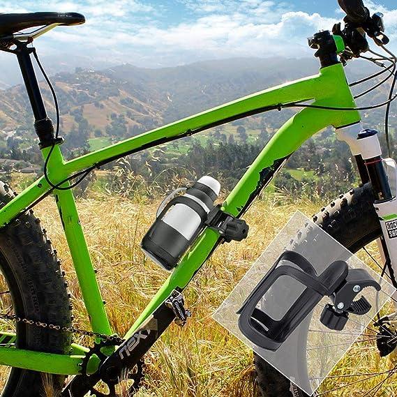 JIMITO Soporte para botellas de bicicleta Manillar de la ...