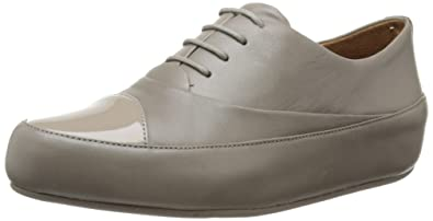 32d4ef266426 Fitflop Women s Due Oxford Lace-Up Flats
