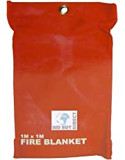 St@llion - Manta antiincendios (tamaño grande, 1 x 1 m)