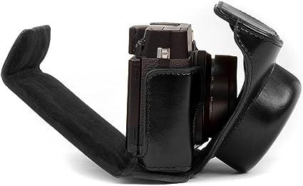 Megagear Leder Kameratasche Für Fujifilm X30 12 Mp Kamera