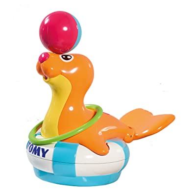 TOMY Bath Sandy The Sea Lion Toy: Toys & Games