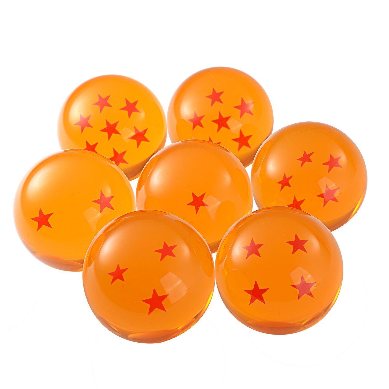 5,7 cm Dragon Ball Z 7 Cristalli in confezione regalo All Stars Confezione da 7 pz Anime by DURSHANI