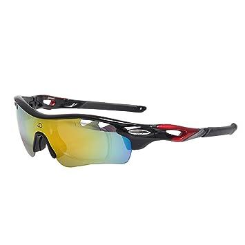 Jimmy naranja deporte ciclismo para hombre Fashion para mujer polarizadas visión nocturna gafas de sol jo1896