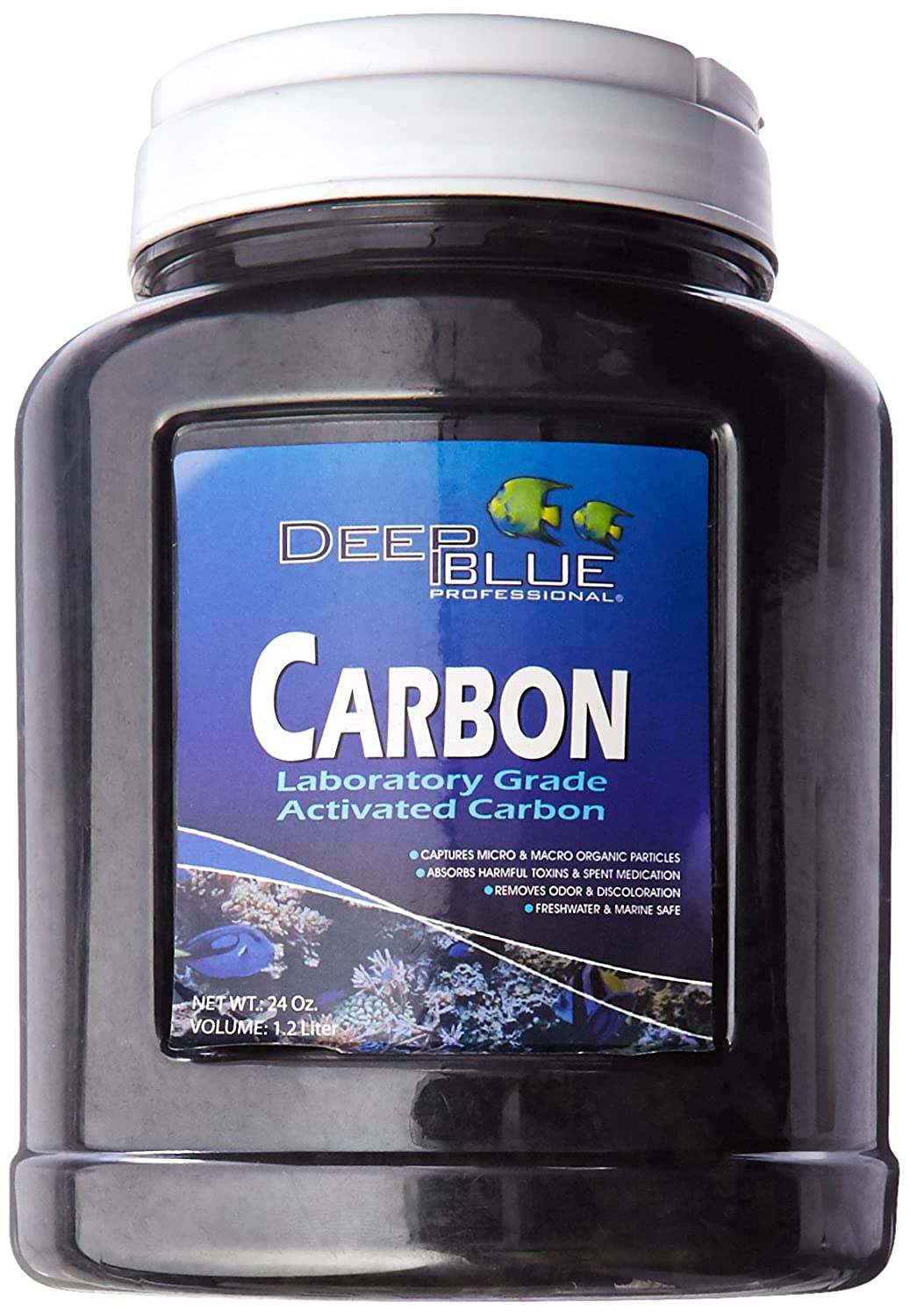 Deep Blue Professional ADB41011 Activated Carbon in Jar with Media Bag, 24-Ounce by Deep Blue Professional B006OORGQW
