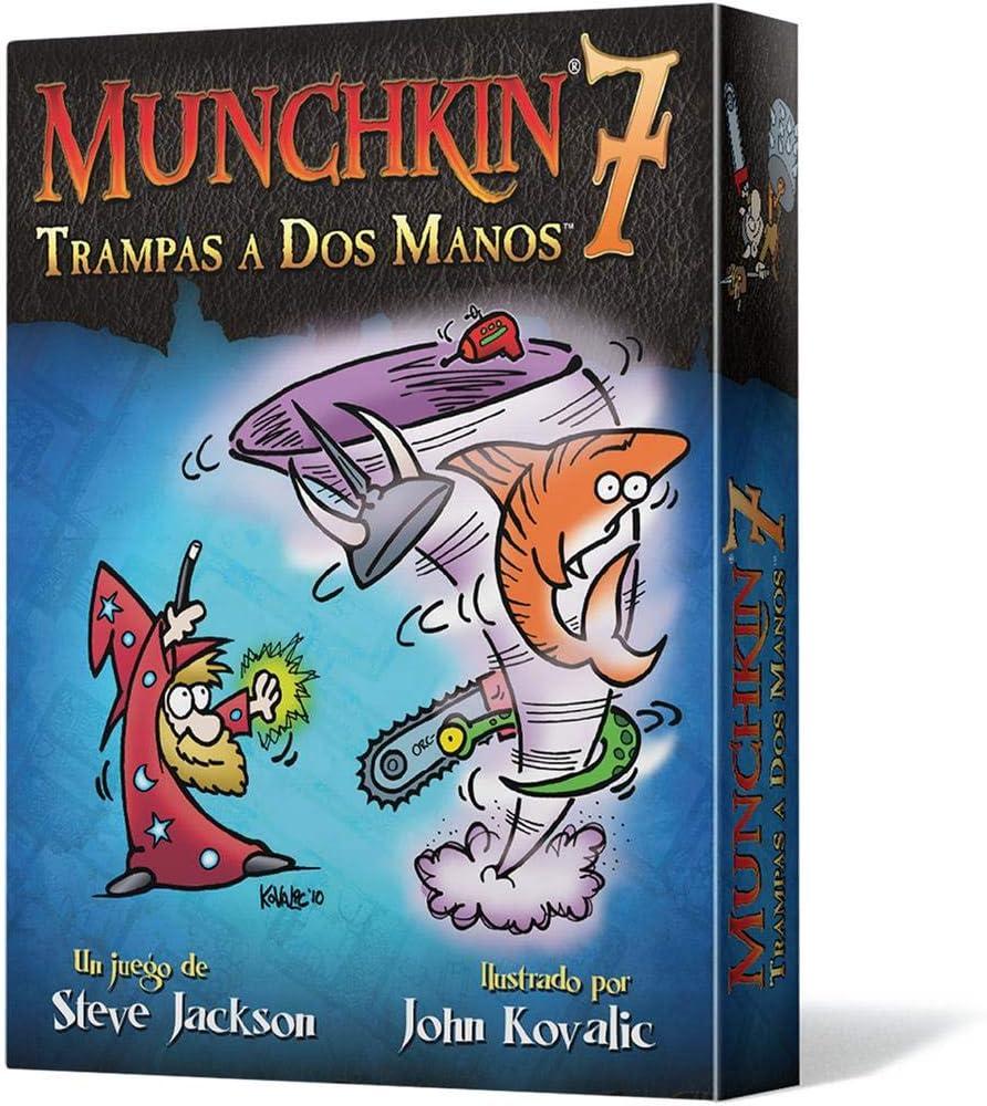 Munchkin - 7: Trampas a Dos Manos, Juego de Mesa (Edge ...