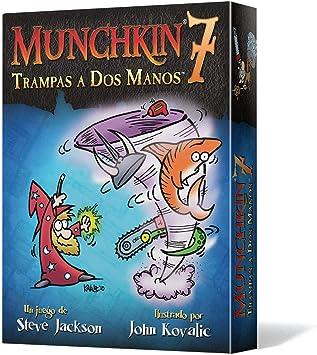 Munchkin - 7: Trampas a Dos Manos, Juego de Mesa (Edge Entertainment MU07): Amazon.es: Juguetes y juegos