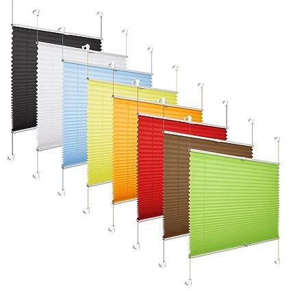 Turbo Amazon.de: Grandekor *Plissee Klemmfix Fenster 50 cm Plissee Rollo OR95