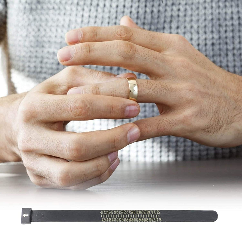 for Women//Men and Kids Ring Sizer Measure Tool Gauge Plastic Finger Sizing Finder Reusable Ring Finger Sizer Jewelry Measurement Ring Sizer Set EU 41-76 EU Ring Sizer