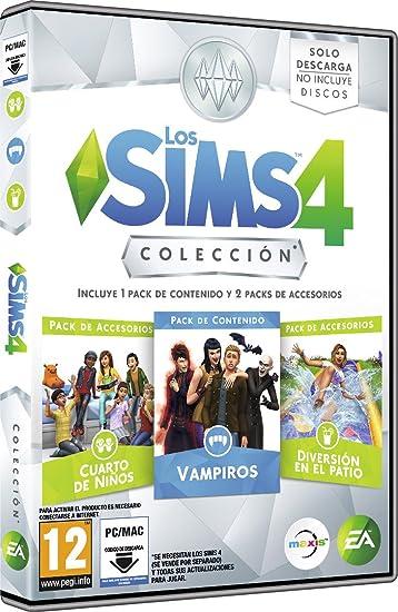 Pack: Los Sims 4 Colección, Incluye 1 Pack De Contenido Y 2 Packs De Accesorios: Amazon.es: Videojuegos