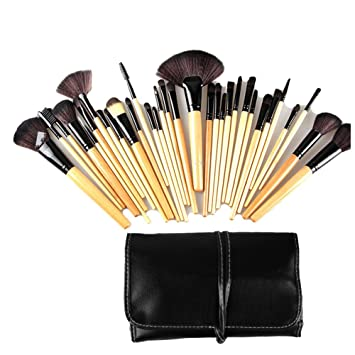 set de brochas de maquillaje amazon