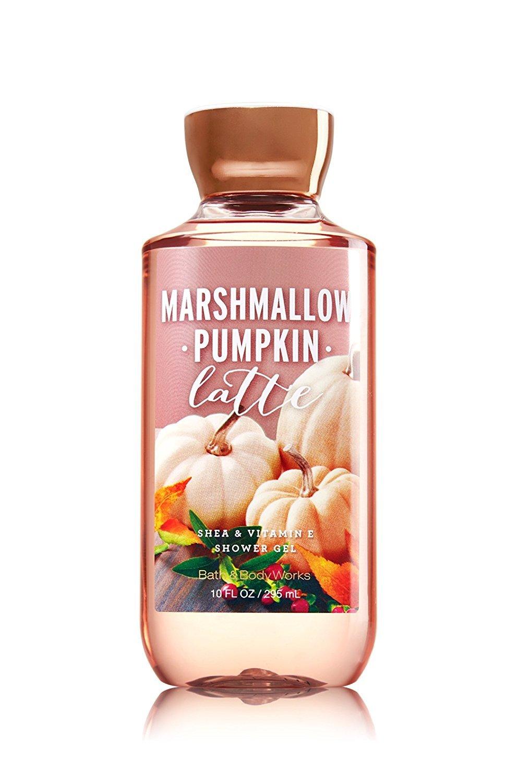 Bath Body Works Marshmallow Pumpkin Latte Mist Lotion Shower Gel Trio Set