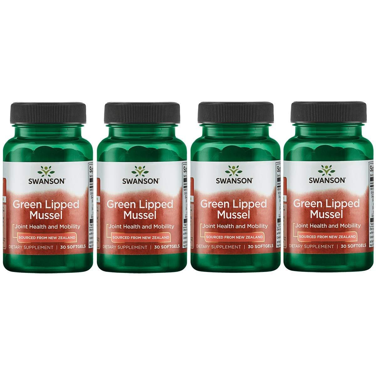 Swanson New Zealand Green Lipped Mussel Oil 30
