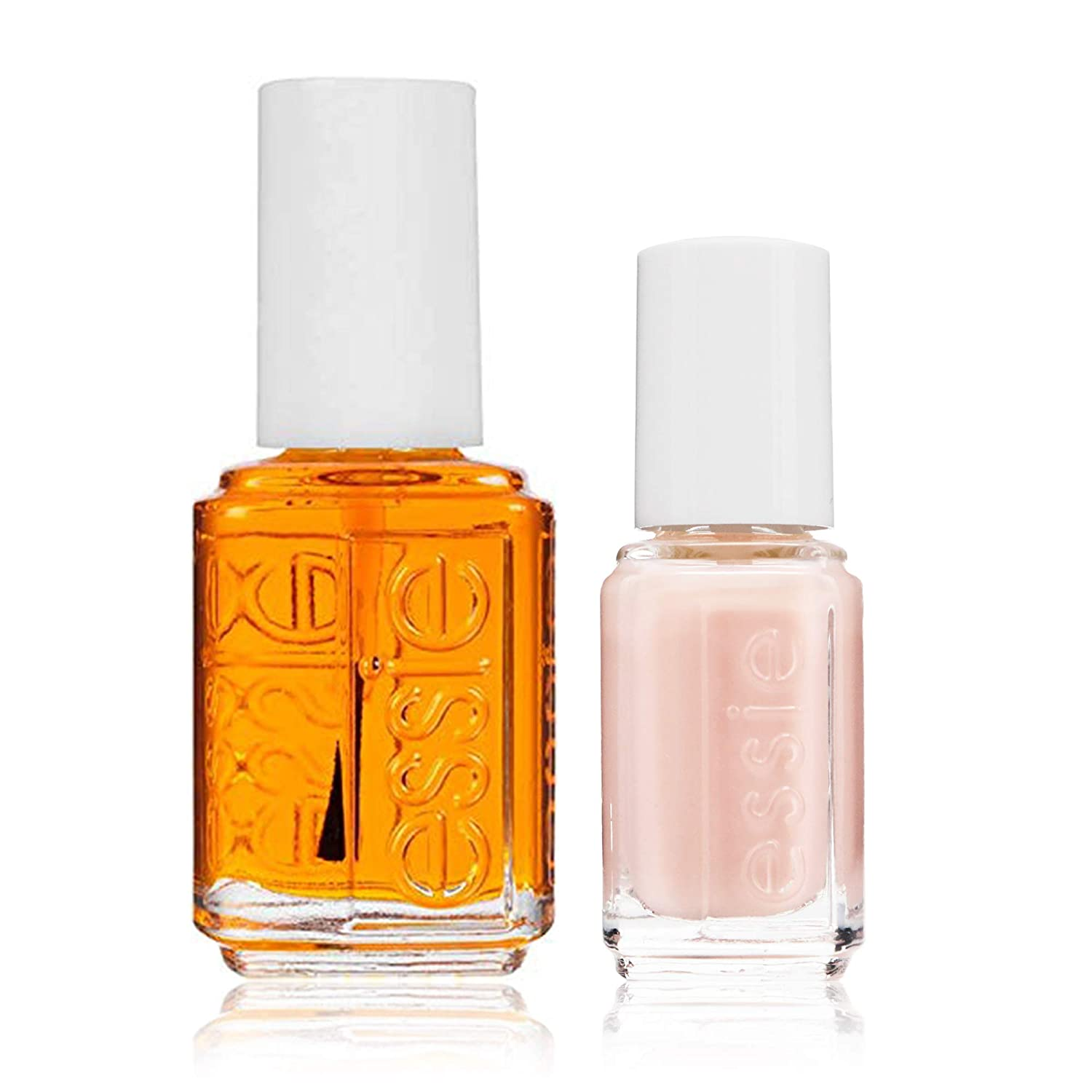 essie Care Treatment Apricot Cuticle Oil Cuticle Hydrator Nourish + Soften 0.46 fl oz with BONUS essie mini Skinny Dip Nail Polish, 1 ea