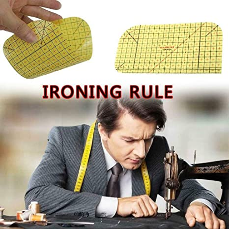 Hot Ironing Ruler Patchwork Tailor Craft Diy Sewing Supply Measuring Tool  W