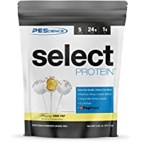 PEScience Select Low Carb Protein Powder, Cake Pop, 5 Serving, Keto Friendly and Gluten Free