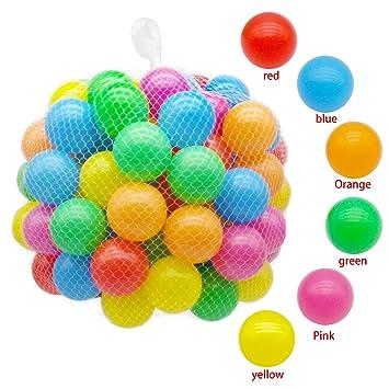 Amazon.com: Trendbox 100 bolas de colores (6 colores) para ...