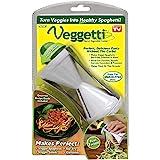 Ontel Veggetti Spiral Vegetable Cutter, Makes Veggie Pasta