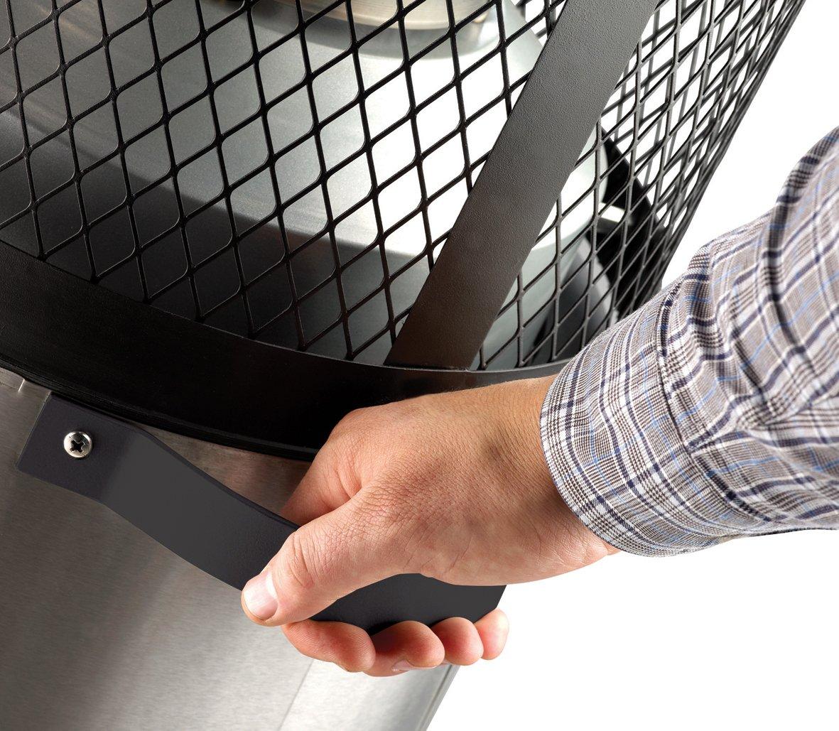 Enders Terrassenheizer Gas POLO 2.0, Gas-Heizstrahler 5460, Terrassenstrahler mit stufenloser Regulierung, ENDUR Reflektionssystem, Transporträder, Umkippsicherung Transporträder