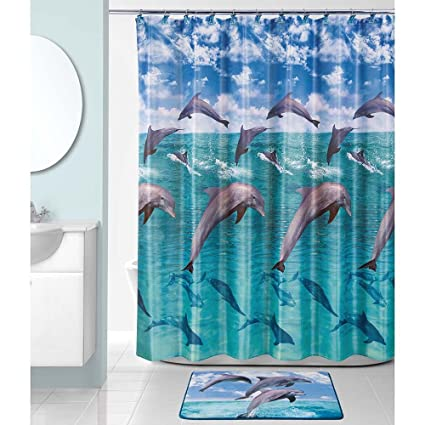 Amazon Allure Home Creations Shower Curtain