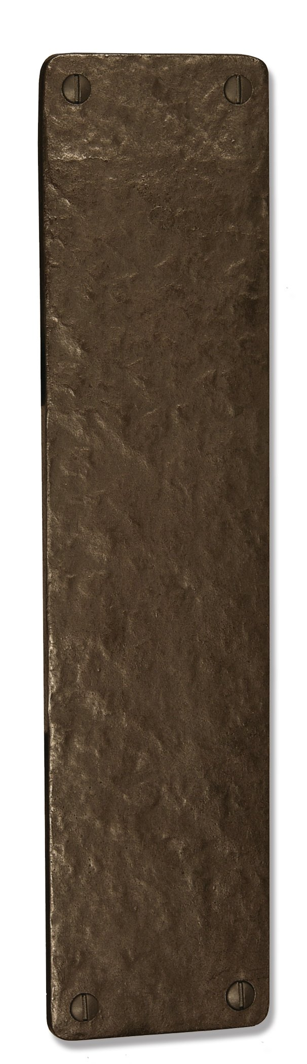 Coastal Bronze - 12'' Square Door Push Plate - Solid Bronze