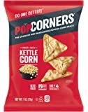 POPCORNERS Carnival Kettle, Popped Corn Chips, Gluten Free, Non-GMO, Single Serve (1oz/40 Pack) - Packaging May Vary