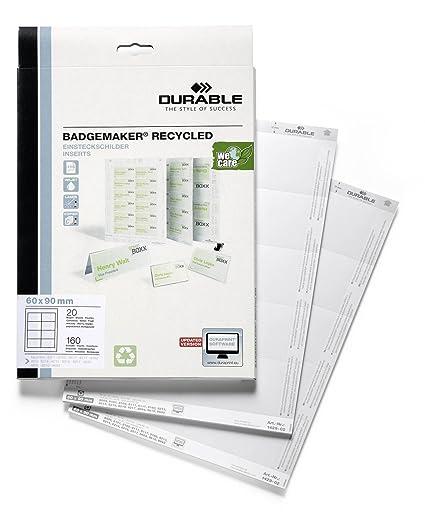 Durable Badgemaker - Tarjetas identificativas para impresora para ...
