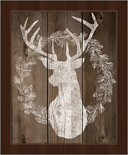 Reindeer Wreath: Merry Christma