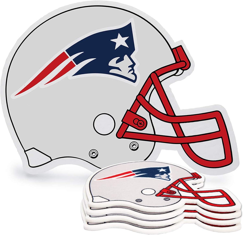 ZEWLLY NFL 4-Piece Drink Coaster Set