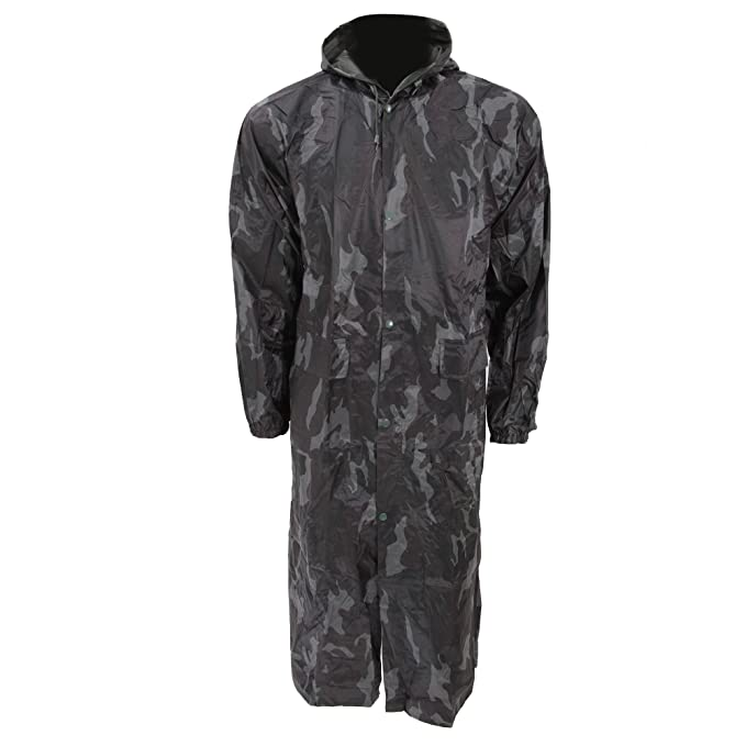 Mens Long Length Waterproof Hooded Coat/Jacket at Amazon Men's ...