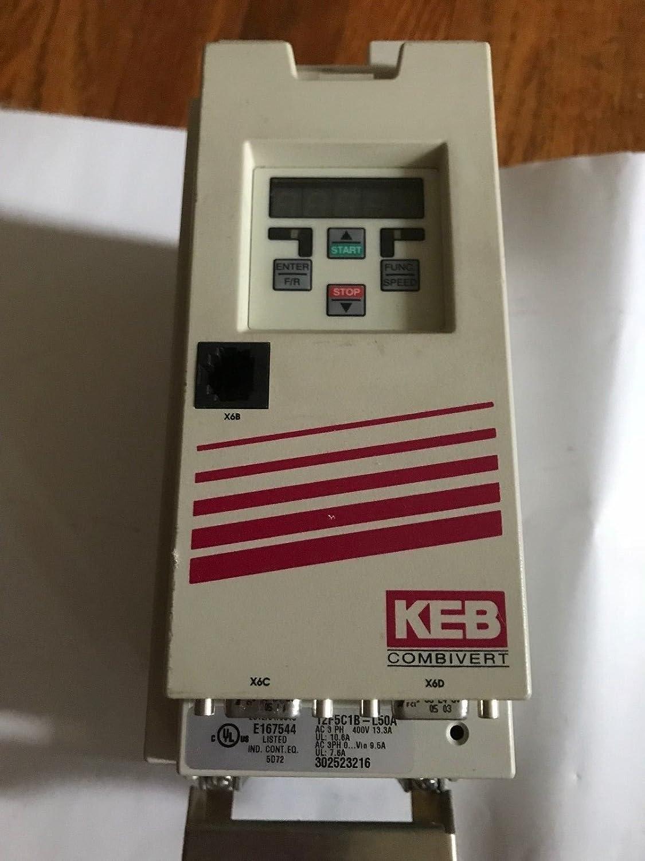 Amazon com: F5 KEB COMBIVERT 12 F5 C1B-L50A VERSION 1 0,KEB