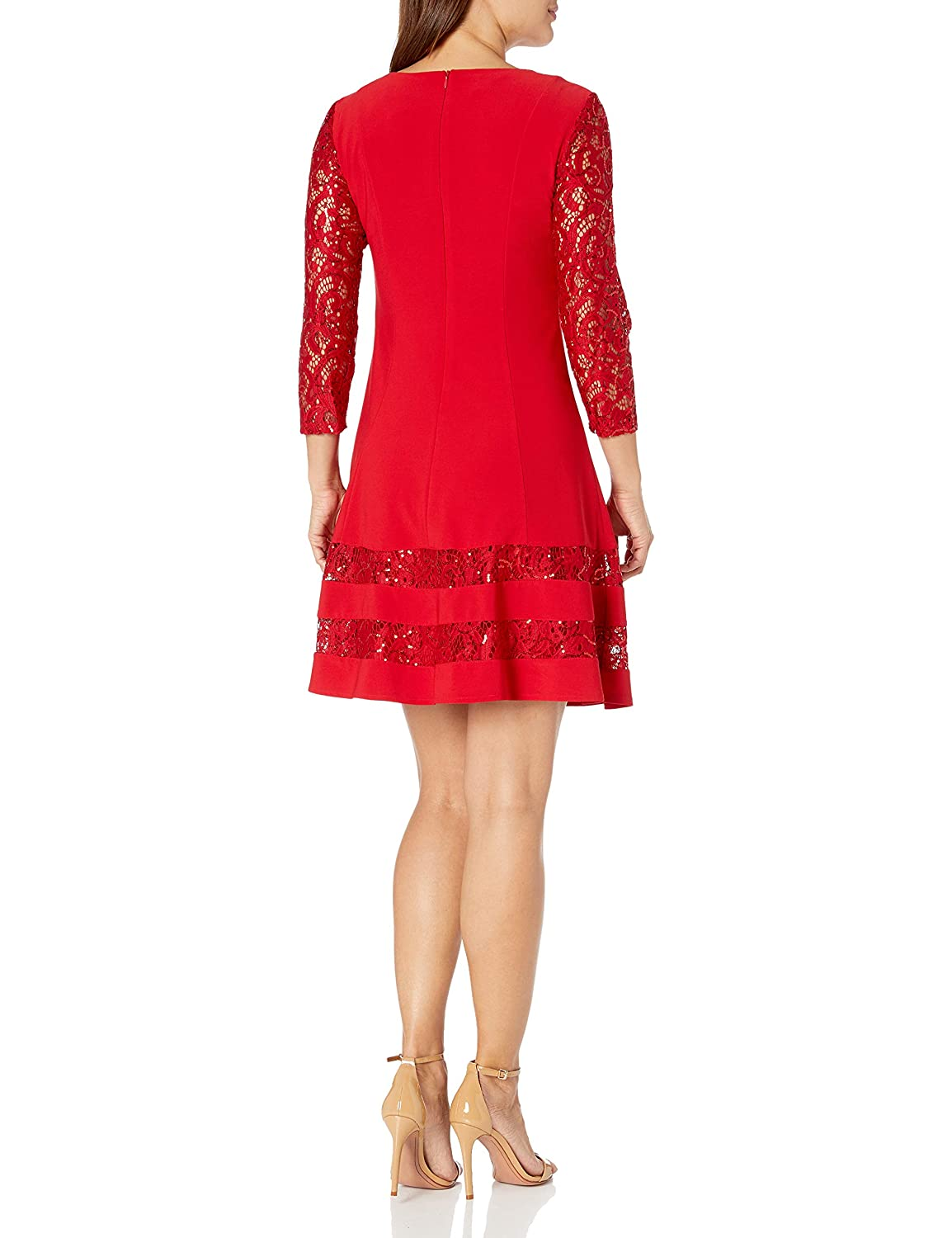 Jessica Howard Womens Petite Fit and Flare