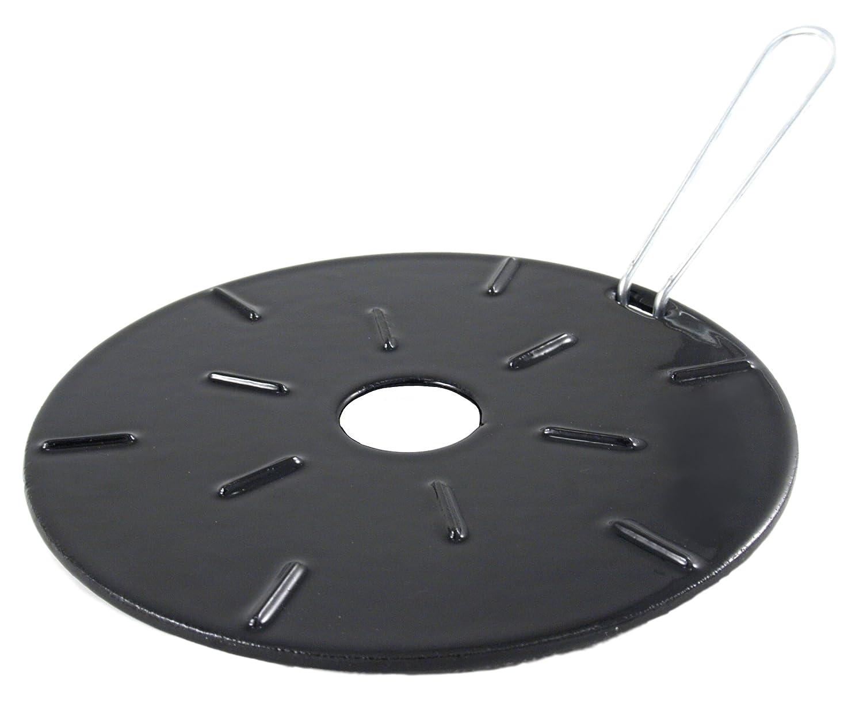 Cast iron kitchen trivet tea pot stand metal hot dish tray cookware - Ilsa Cast Iron Heat Diffuser Reducer 8 25 Inch