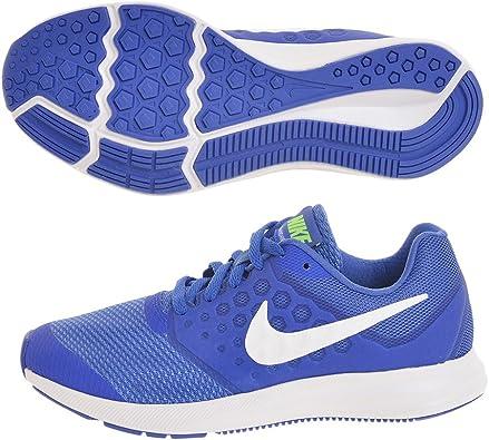 NIKE Zapatillas Downshifter 7 (GS) Mega Blue/White Green Strike R, Deporte para Mujer: Amazon.es: Zapatos y complementos