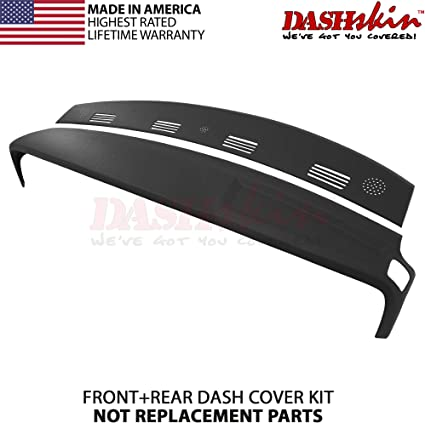 2002-2005 Dodge Ram Molded Dash Cap Cover Skin Overlay Rear Defrost Navy Blue