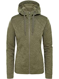 7baba96cc1 THE NORTH FACE Women s Mezzaluna Full Zip Hoodie  Amazon.co.uk ...