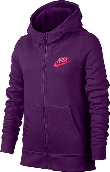 Nike Club de tallas para niñas algodón cremallera completa ...