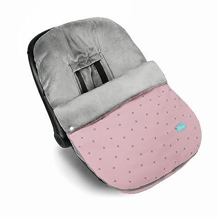 Saco grupo 0 babyclic modelo Canadá Cruz rosa: Amazon.es: Bebé