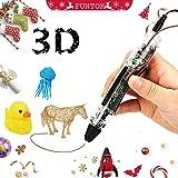FUNTOK Penna 3D, a bassa temperatura intelligente Penna Miglior regalo fai da te per i bambini
