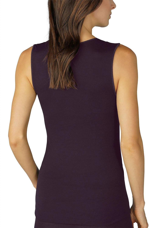Mey Basics Serie Silk Touch Wool Damen Tops breiter Tr/äger 66001