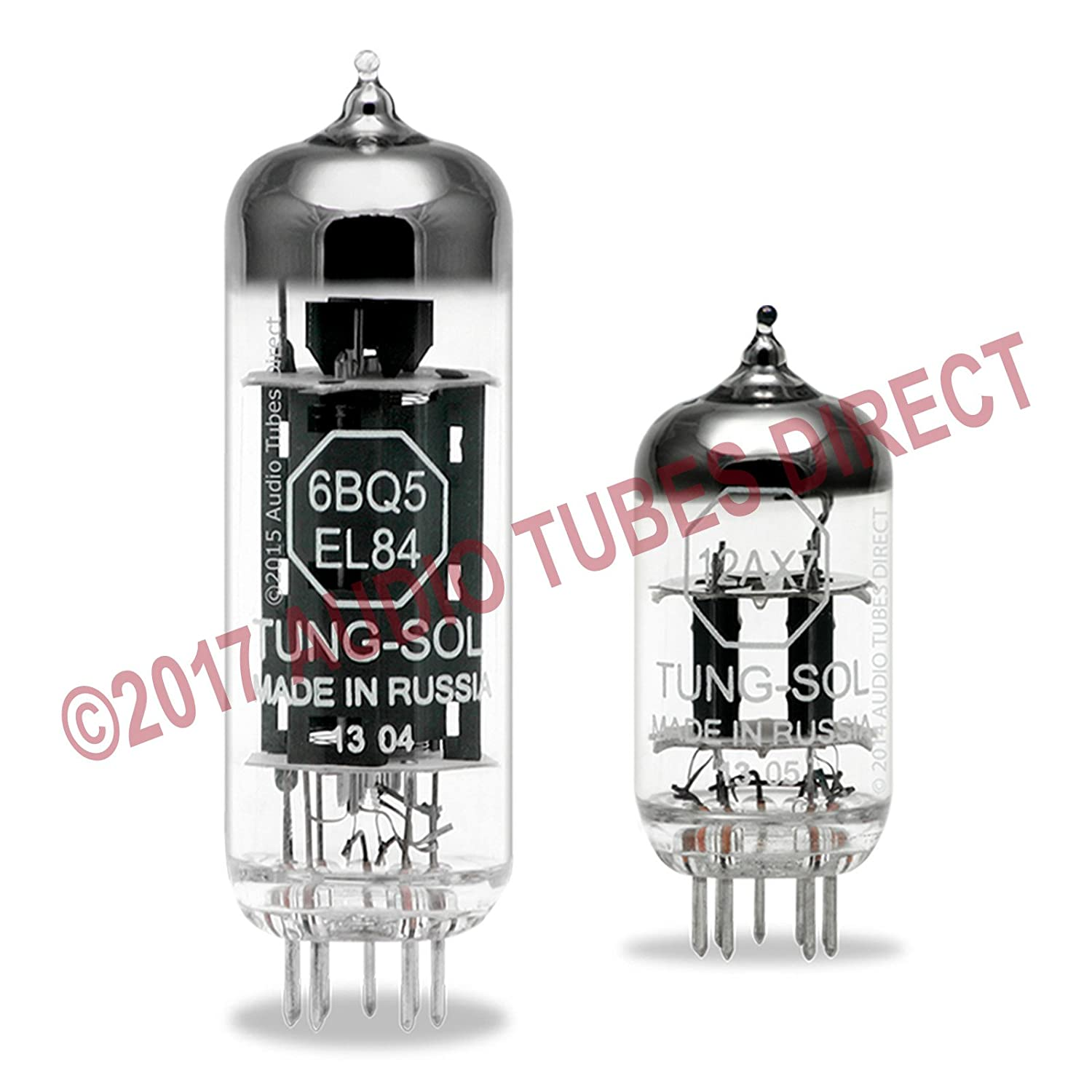 Tung-Sol Tube Upgrade Kit For VOX AC4TV & AC4TVH Amps w/EL84 12AX7 New Sensor Corp.