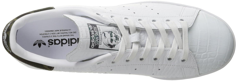 new styles 39c92 cc94f Amazon.com   adidas Originals Men s Stan Smith Fashion Running Shoe White  Black 1, ((7 M US)   Fashion Sneakers