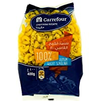 Carrefour Pasta Chiffrini Rigate - 400 gm