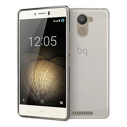 WolinTek Funda BQ U Plus, Carcasa para móvil de TPU Gel ...