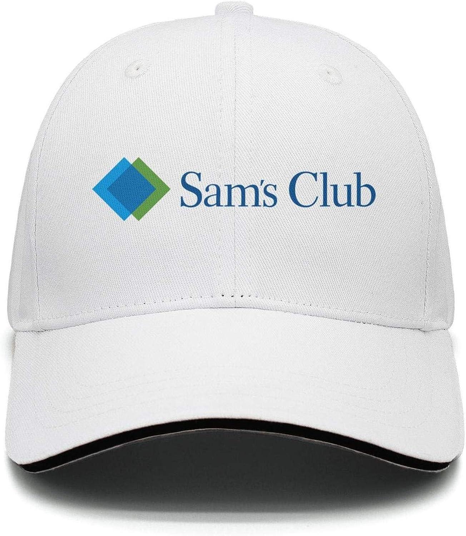 Cap Fitted Snapback hat UONDLWHER Adjustable Unisex Sams-Club