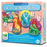 The Learning Journey My First Puzzle Sets 4-In-A-Box Puzzles, Dino