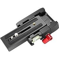 Neewer 10089354 - Adattatore piastra di appoggio professionale, colore nero e rosso