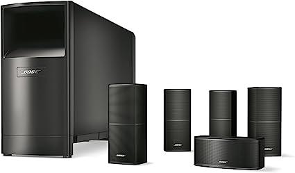 Amazon.com: Bose Acoustimass 10 Series V Home Theater Speaker System,  Black: Home Audio & TheaterAmazon.com