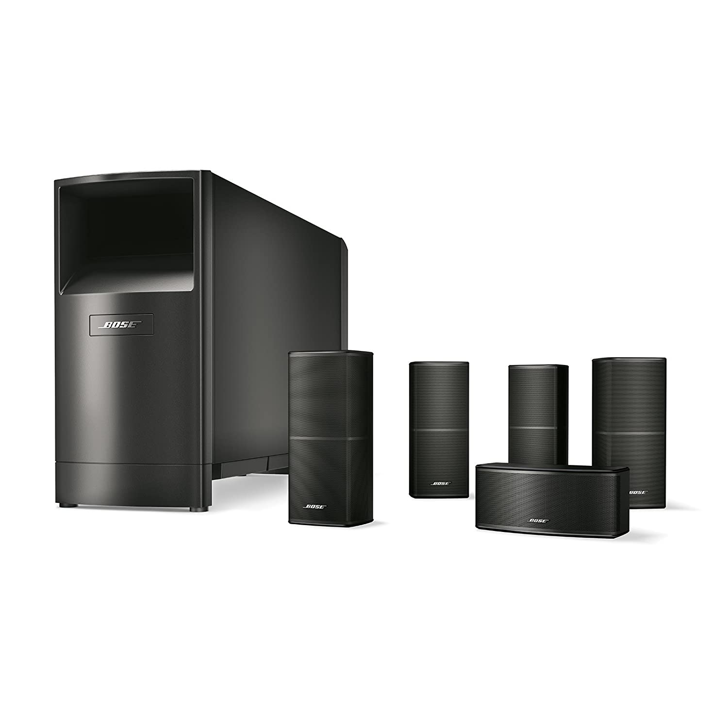 Bose Sound System >> Bose Acoustimass 10 Series V Home Theater Speaker System Black 720962 1100